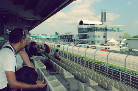 Main Grandstand - Garnet (Lower Tier)